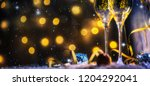 christmas and new year holidays ... | Shutterstock . vector #1204292041