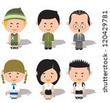 dolls | Shutterstock .eps vector #120429781