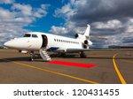 White Reactive Private Jet ...