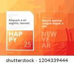 vector abstract design banner... | Shutterstock .eps vector #1204339444
