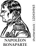 napoleon bonaparte  a french... | Shutterstock .eps vector #120434965