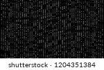 bright flashing dots  3d... | Shutterstock . vector #1204351384
