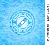 bandage plaster icon inside sky ... | Shutterstock .eps vector #1204362757