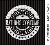 bathing costume silver badge   Shutterstock .eps vector #1204376347