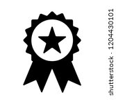 certification seal icon  ... | Shutterstock .eps vector #1204430101