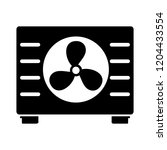 vector car radiator... | Shutterstock .eps vector #1204433554