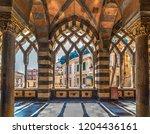 interior view of amalfi... | Shutterstock . vector #1204436161