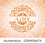 airy abstract emblem  orange...   Shutterstock .eps vector #1204436674
