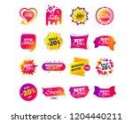 sale banner templates design.... | Shutterstock .eps vector #1204440211