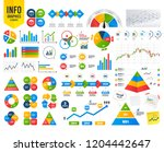 business infographic template.... | Shutterstock .eps vector #1204442647