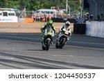 buriram thailand 7oct2018... | Shutterstock . vector #1204450537
