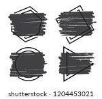 vector grunge backgrounds.set...   Shutterstock .eps vector #1204453021