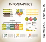 infographics over beige... | Shutterstock .eps vector #120446245