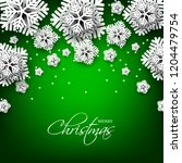 merry christmas party... | Shutterstock .eps vector #1204479754