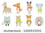 vector collection ofcute... | Shutterstock .eps vector #1204515241