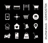 purchase icon. purchase vector... | Shutterstock .eps vector #1204520704