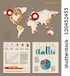 modern map and infographics ... | Shutterstock .eps vector #120452455