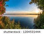 colorful autumn background | Shutterstock . vector #1204531444