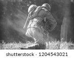 reenactor ww2 soldier