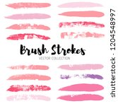 beauty and cosmetics brush... | Shutterstock .eps vector #1204548997