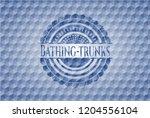 bathing trunks blue polygonal...   Shutterstock .eps vector #1204556104