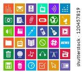 36 icons  metro style  modern ...