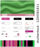 light pink  green vector design ...