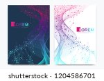 modern vector template for... | Shutterstock .eps vector #1204586701