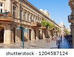 baku  azerbaijan   september 14 ...   Shutterstock . vector #1204587124