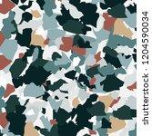 naturalistic marble floor  with ... | Shutterstock . vector #1204590034