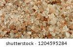 pink himalayan salt rotating.... | Shutterstock . vector #1204595284