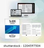 template vector design ready... | Shutterstock .eps vector #1204597504
