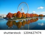 Great Wheel Of Montreal With...
