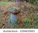 Old Concrete Figure For Garden...