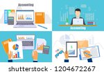 international accounting day... | Shutterstock .eps vector #1204672267