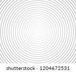 abstract vector circle halftone ... | Shutterstock .eps vector #1204672531