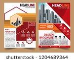 business abstract vector... | Shutterstock .eps vector #1204689364