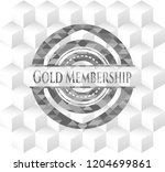 gold membership grey emblem.... | Shutterstock .eps vector #1204699861