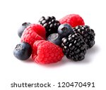 Heap of sweet berry - stock photo