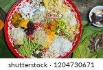 merit making for ancestors and... | Shutterstock . vector #1204730671