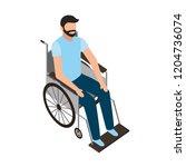 medical healthcare related | Shutterstock .eps vector #1204736074