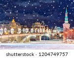 beautiful view of of festive...   Shutterstock . vector #1204749757
