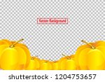 pile of pumpkins isolated on...   Shutterstock .eps vector #1204753657