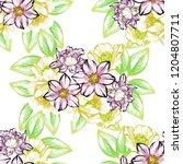 abstract elegance seamless... | Shutterstock . vector #1204807711
