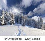 Beautiful Winter Landscape In...