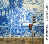 Street Of Porto  Decorated Wit...
