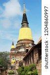 ayutthaya  thailand  ... | Shutterstock . vector #1204860997