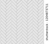 rectangular herringbone grey... | Shutterstock .eps vector #1204873711