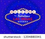 las vegas  nevada  october 16 ... | Shutterstock .eps vector #1204880341