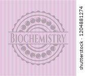 biochemistry retro style pink... | Shutterstock .eps vector #1204881274